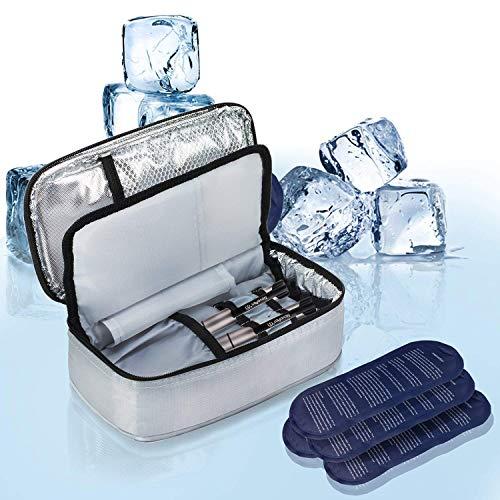 Allcamp borsa termica per mantenere l'insulina e medicinali