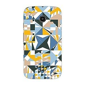 Garmor Designer Plastic Back Cover For Motorola Moto E