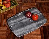 Hashcart schöne, Marmor, Chopper | Schneidebrett für Brot, Obst, Gemüse Fleisch und Käse, Serviertablett