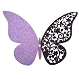 Wandaufkleber Yesmile,12 PCS Schmetterling 3D Wandsticker/Mode Dekoration/Wandtattoo Wandsticker/3D Entfernbarer Spiegel Dekor (L)