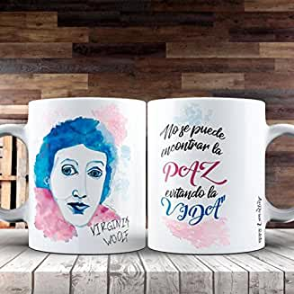 Taza Feminista -Virginia Woolf