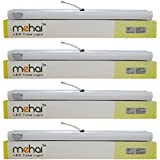 4 Pcs Mehai T5 - 5W (5watts) Slim Led Tube Light 1 Feet For Home And Office Cool White