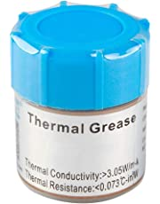 UPVsales 10G Thermal Grease Paste Heat Sink Compound for CPU and Chipset 10 Grams Pack (Grey)