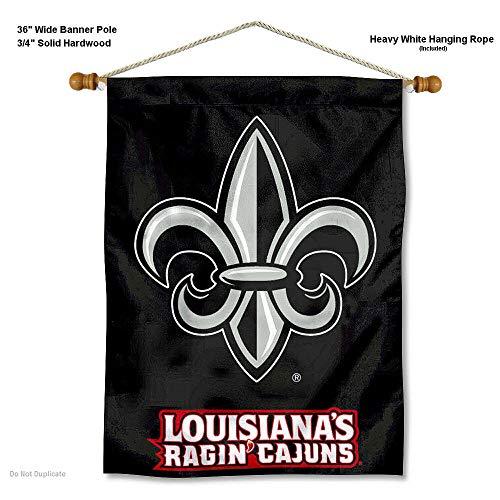 Louisiana Lafayette rajun Cajuns Wand Banner - Lafayette Tür