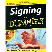 Signing For Dummies by Adan R. Penilla II (2003-06-20)