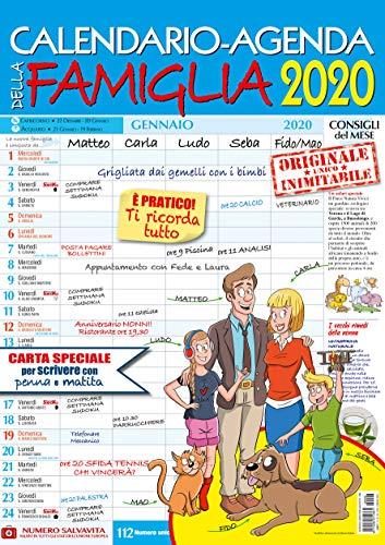 Calendario-Agenda della Famiglia 2020