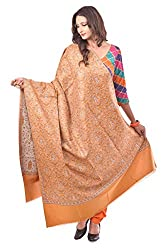 Weavers Villa - Women's Yellow Jamdani Designer Shawls , Stoles