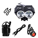BYBO® 5000 Lumens 2x Cree XM-L U2 LED Bike Bicycle Cycling Light Headlight