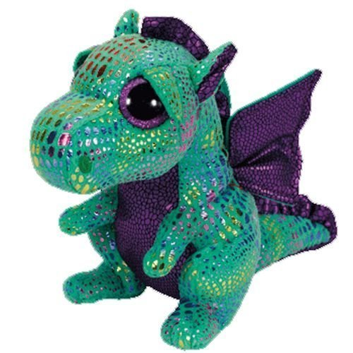 Ty Beanie Boo 6' Plush Cinder the Green Dragon by Beanie Boos