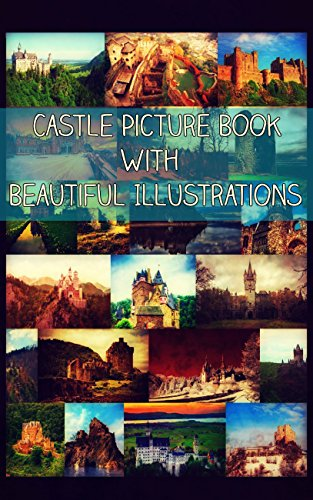 Castle Picture Book With Beautiful Illustrations (English - Spongebob Fall Kindle