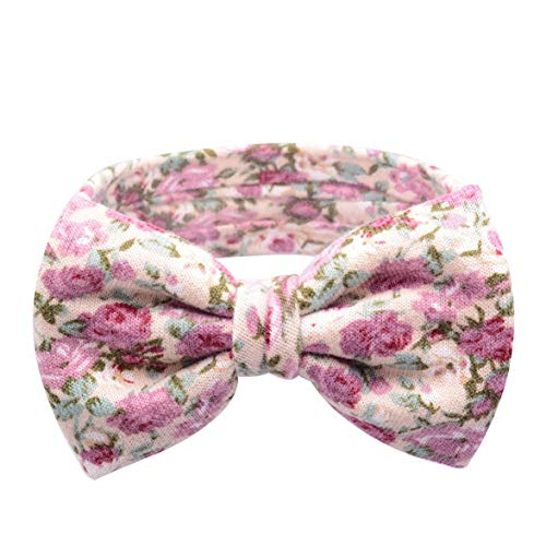 638eb189751 Kongqiabona Baby Girls Hair Band Elastic Cute Bowknot Headband Bohemia  Style Fashion Headdress Soft Cloth Head