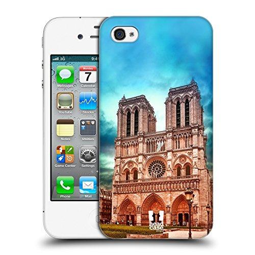 Head Case Designs Venise Canal De La Gondole Italie Meilleurs Endroits - Collection 3 Étui Coque D'Arrière Rigide Pour Apple iPhone 6 / 6s Notre Dame Cathedral Paris
