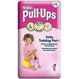 Huggies Pull-Ups Pantalons de formation de pot pour Filles Taille 6 Grand 16-23kg (12) - Paquet de 6