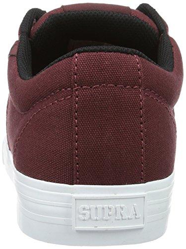 Supra - Stacks Vulc Ii, Sneakers da uomo Rosso (Rot (BURGUNDY / BLACK - WHITE 657))