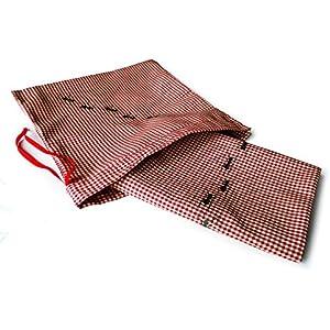 Picknickdecke Ameisen, Leinen, 100x100cm, handgenäht, handbedruckt. Siebdruck.