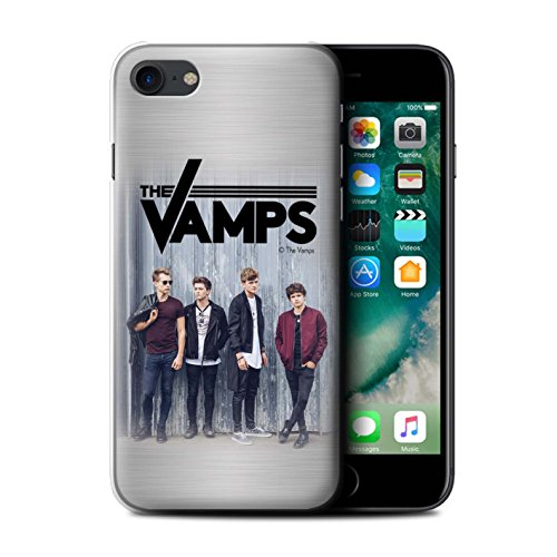 Officiel The Vamps Coque / Etui pour Apple iPhone 7 / Esquisser Design / The Vamps Séance Photo Collection Brossé