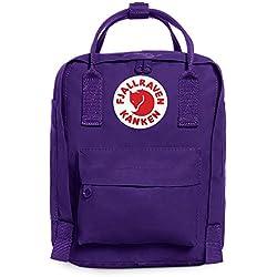 Fjällräven Kanken Kids Mochila, Unisex infantil, Morado (Purple)