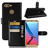 MaxKu ZTE Blade V9 Case, Premium PU Leather Flip Cover