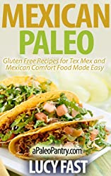 Mexican Paleo: Gluten Free Recipes for Tex Mex and Mexican Comfort Food Made Easy (Paleo Diet Solution Series) (English Edition)