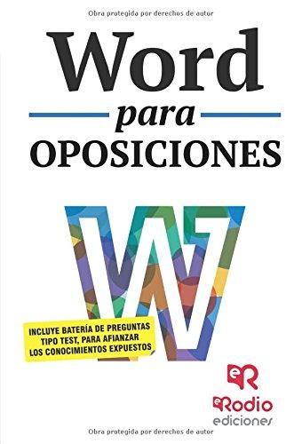 Word para Oposiciones por BINGEN LOINAZ BORDONABE