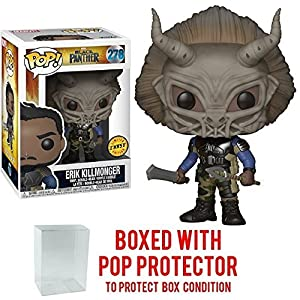 Funko Pop Erik Killmonger con máscara Chase (Black Panther – Marvel 278) Funko Pop Black Panther