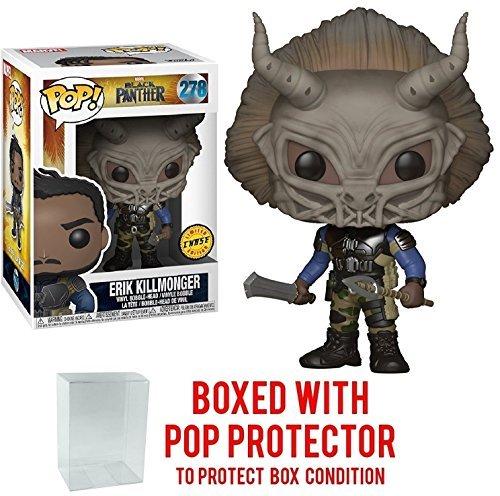 Funko Pop Erik Killmonger con máscara Chase (Black Panther – Marvel 278) Funko Pop Black Panther