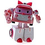 # Deluxe Robocar Poli Toy - Amber (Transformador) - Edición Especial Limitada