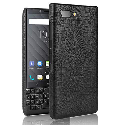 CiCiCat BlackBerry KEY2 LE Hülle Handyhüllen, Hard PC Back Cover Case Schutz Hülle Tasche Schutzhülle Für BlackBerry KEY2 LE. (4.5'', Schwarz) -