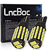 LncBoc T10 W5W Bombillas LED Coche 54SMD 3014LED 501 2825 175 192 168 194 Wedge Lampara para coches...
