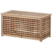 Amazonit Tavolino Contenitore In Legno Beige