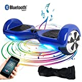 "BEBK Elektro Scooter, 6.5"" Hover board, Self Balance Scooter mit Bluetooth Lautsprecher, 2 * 350W Motor, LED Lights"