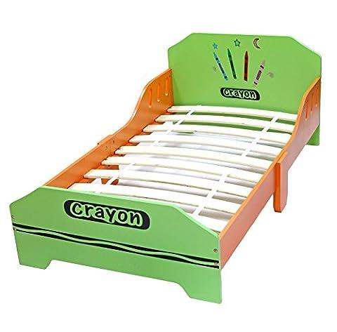 Bebe Style Lit Junior de Bois pour Enfant Crayon à