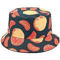 Rinder - Sombrero plegable para lavabo, diseño tropical, color negro, A