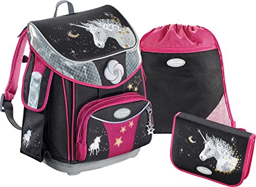 Sammies Premium Plus Schulranzen-Set 3-tlg Unicorn...