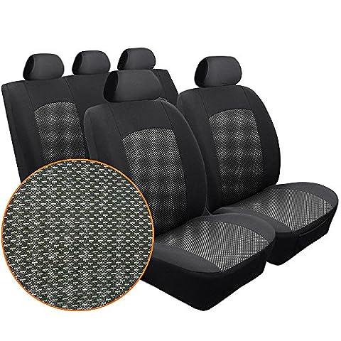 Premium Sitzbezüge Komplettset für Seat Ibiza IV 2008- Design D1