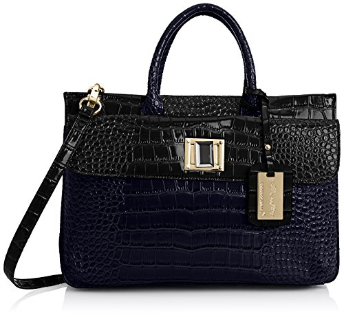 SwankySwans  Bedford Patent Leather Business,  Damen Laptop-Tasche Blau
