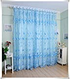 Generic Tulip Tulle Voile Door Window Cu...