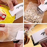 XIUFEN Mini Household Fully Hot-pressing Sealer Fresh Food Saver Sealing Machine