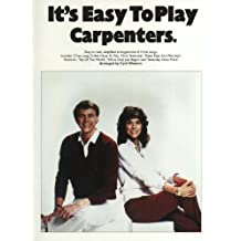It's Easy to Play the 34;Carpenters34;