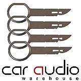 AUDI A2, A3, A4, A6, A8 RADIO / unità principale/navigatore satellitare chiavi di rimozione per concerto, Symphony, Coro, RNS-E navigazione