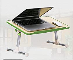 Foldable, Multipurpose (Study / Reading / Eating / Craft-work) Laptop Table with Cooling Fan