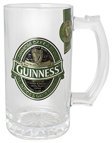 chope-guinness-irlande-collector-avec-tiquette-guinness-irlande-en-relief