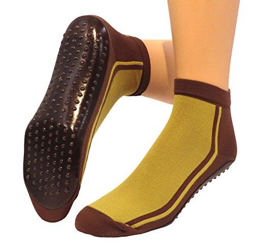 Shimasocks - Femmes Chaussettes de Plage, Watt Semelles de Plage moutarde/mocca
