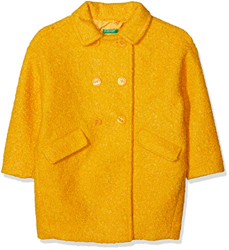 United Colors of Benetton Coat Blazer Bambina Giallo 3 anni