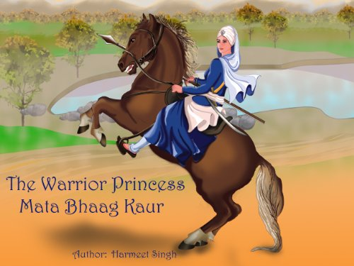 The Warrior Princess - Mata Bhaag Kaur (English Edition) (Mais Mat)