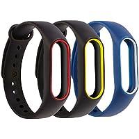 Moretek pour Xiaomi Mi Band 2 Bracelet de Rechange, Silicone Remplacement Bandes pour Mi Band 2 Fitness Tracker d'Activité Montre Accessoire