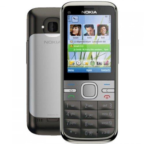 Nokia C5 Phone (Grey)