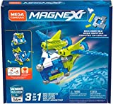 Mega Construx GFF24 Magnext 3-in-1 Mag-Rockets, Multicoloured