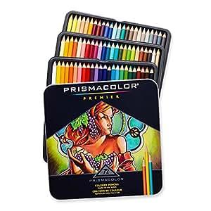 Crayon de couleur Prismacolor Premier Set 72/Tin-W/deux