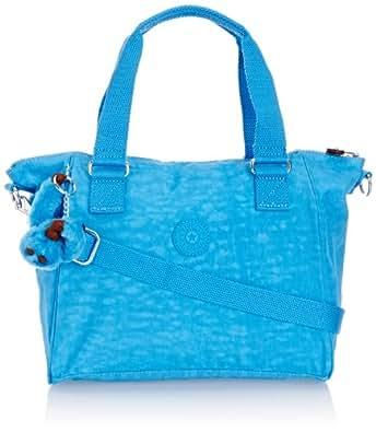 Kipling AMIEL K1537197W, Borsa a mano Donna, Blu (Blau (Sky Blue), 27x25x15 cm (L x A x P)